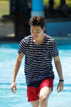 BTS (방탄소년단) Summer Package 2015 Sutera Harbour Resort in Kota Kinabalu Park Ji Min, Busan, Mochi, Jikook, Bts Summer Package 2015, K Pop, Jimi Bts, Bts 2015, Jimin Hot