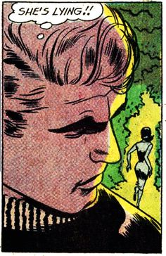 "Comic Boy's Say.. ""She's Lying!""   #comic #popart #vintage"