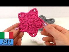 VIDEO-TUTORIAL STELLA DECORATIVA NATALIZIA A UNCINETTO !!! - YouTube