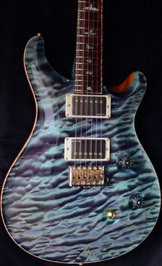 Used Paul Reed Smith Private Stock Custom 24 Northern Lights #prsguitars