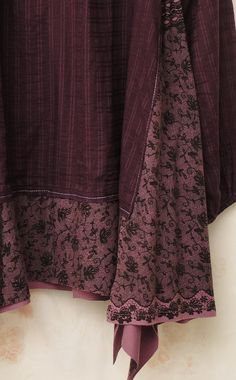 Purple clouds.... Plus size xl/2xl upcycled tunic by MollaMaia