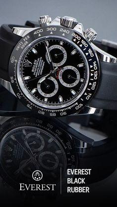 Best Men's Fashion Designer Watches Rolex Watches For Men, Luxury Watches For Men, Cool Watches, Dream Watches, Fine Watches, Wrist Watches, Men's Watches, Mens Designer Watches, Rubber Watches