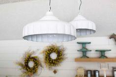Cream Hanging Lamp