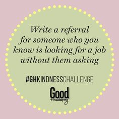 67 daily acts of kindness: Here are some easy ways you can make someone's day. Ways To Say Hello, Kindness Challenge, Know Who You Are, Make An Effort, Good Housekeeping, Helping Others, Favorite Quotes, It Hurts, Challenges