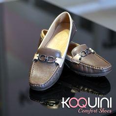 Caprichando no visual para um final de semana animado e com muito conforto com #mocassim by #wirth #koquini #comfortshoes #euquero Compre Online: http://koqu.in/1OevdMv