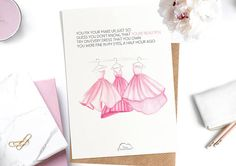 Printed Watercolor cards Lyric card John Legend  You & I