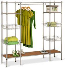 Honey-Can-Do -- Steel Closet System