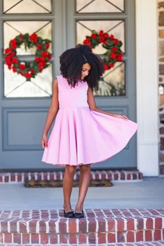 In need of a holiday dress for your little girl? Classic Girl Clothing has some of the cutest and age appropriate Christmas dresses for your little girl! Dresses Kids Girl, Girls Party Dress, Girl Outfits, Feminine Dress, Classy Dress, Holiday Dresses, Christmas Dresses, Pink Velvet Dress, Girls Special Occasion Dresses
