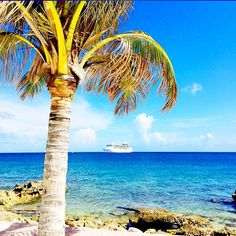 Your ship has come in. CocoCay is a private island exclusively for guests of Royal Caribbean.