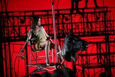 Scene from Ödön von Horváth's Casimir and Caroline, directed by Emmanuel Demarcy-Mota, 2010