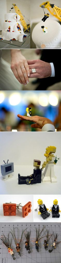 lego wedding: a couple of friends will love this!!!