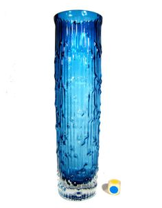 60er-Jahre-Vase-Design-Nanny-Still-textured-glass-Riihimaki-Finland-1960-s