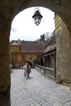 Sighisoara, Romania Central And Eastern Europe, Save The Planet, Pathways, Tudor, Medieval, Landscapes, Stairs, Architecture, Street