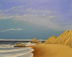 Where the Sandstone meets the Sea - Gary Miller
