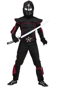 Image result for zombie ninja costume ninja pinterest check out the deal on masked ninja child costume free shipping at purecostumes solutioingenieria Images