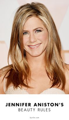 Jennifer Aniston's 6 beauty rules please follow me,thank you i will refollow you later