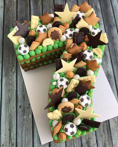 Alphabet Cake, 8th Birthday Cake, Number Cakes, Disney Cakes, Buttercream Frosting, Cake Cookies, Cake Designs, Amazing Cakes, Food Videos