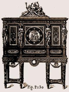 Armoire à bijoux de Marie Antoinette