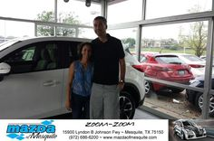 https://flic.kr/p/G5nMBE | Happy Anniversary to Joel on your #Mazda #CX-5 from Teresa Mayon at Mazda of Mesquite! | deliverymaxx.com/DealerReviews.aspx?DealerCode=B979