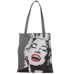 Marilyn Monroe Canvas Shopper Bag