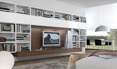 Modern Living Room, Entertainment Center