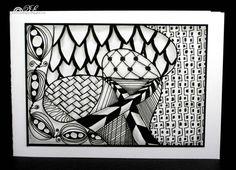 Zentangle  | Zentangle cards | Cardesque