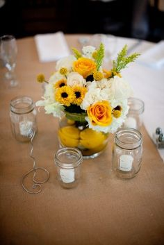 Elegant Country Chic Blue and Yellow Wedding in Virginia | Washington DC Weddings, Maryand Weddings, Virginia Weddings :: United With Love™ :: Fresh Inspiration, Ideas and Vendors