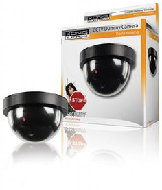 Konig SEC-DUMMYCAM50 CCTV dummy dome binnencamera