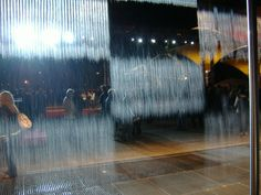 Digital Water Pavilion Turns Water into Walls of Art - Okeanos Aquascaping Kinetic Architecture, Water Architecture, Water Walls, Outdoor Learning, Smart Water, Fish Tank, Design Process, Water Features, Pavilion