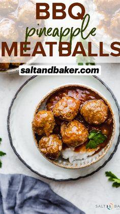 Barbecue Recipes, Pork Recipes, Crockpot Recipes, Cooking Recipes, Juicy Meatball Recipe, Meatball Recipes, Best Appetizers, Appetizer Recipes, How To Cook Meatballs