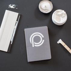 Screenprinted notebooks from Crafted by Clover. #MadeWithLumi #DIY