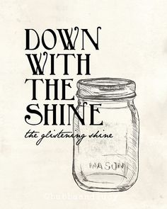 down with the shine . the glistening shine . avett brothers by BubbaAndLucy