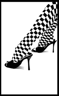 black and white fashion shoes high heels checkered artwork white background wallpaper Art HD Wallpaper Black Mode, All Black, Blue And White, Shoes Wallpaper, Wallpaper Desktop, Hd Desktop, Mode Shoes, Fashion Background, Photocollage