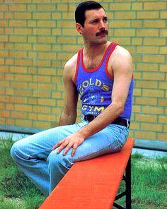 Freddie Mercury Picture in 1986