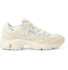 online store 93be5 f06c0 RAF SIMONS +adidas Originals Ozweego Bunny Rubber, Mesh and Leather Sneakers.  rafsimons