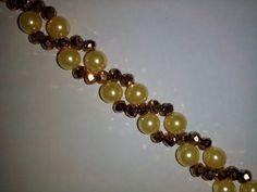 Elegant Beaded Bracelet . Diy Jewelry Making Tutorial - YouTube