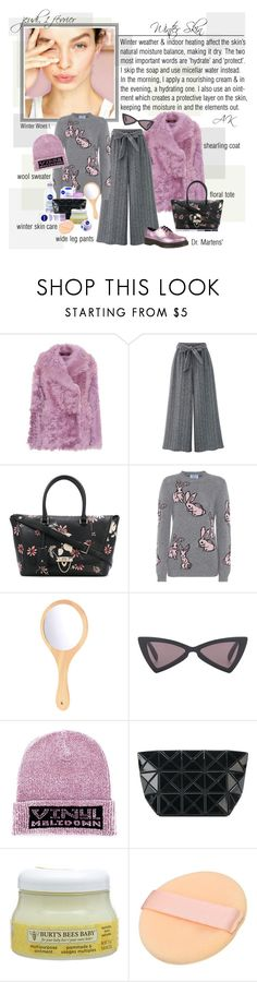 """""""Mon Style № 196 - 1 February, 2018"""" by mon-style-diary ❤ liked on Polyvore featuring Sies Marjan, Valentino, Prada, Yves Saint Laurent, Nivea, Alexander Wang, Bao Bao by Issey Miyake, Burt's Bees and Dr. Martens"""