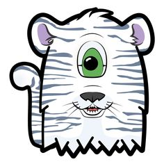 White Tiger Furly