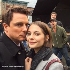 john barrowman & willa holland - Google Search