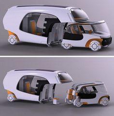 motorhome car camper hybrid