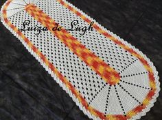 Tapete de crochê (1 metro e 30 cm de comprimento) #LuizadeLugh