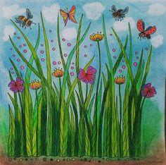 Relaxační omalovánky TOPP ptáci, motýli a příroda