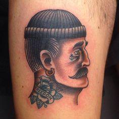 Miks Tattoo Copenhagen traditional old school sailor tattoo