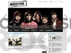 MusicPlus is an amazing free WordPress theme, great solution for blog about music. The theme comes with two sidebars, vertical menu, slider, custom widgets and lot of other powerful features provide a great base to build on.
