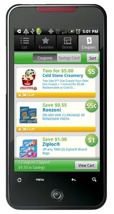 Grocery iQ® is an intuitive shopping list that allows you to build new lists quickly with features like predictive search and barcode scanning.