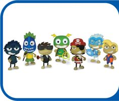 PopTropica is huge game and these figurines bring the game to life.