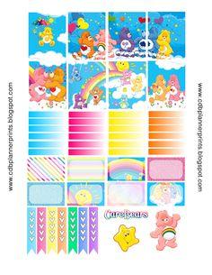 CDB Planner Prints: Care Bears