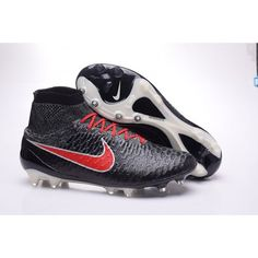 Nike Magista - Nike Magista Onda FG-Poison BlackblackRough GreenHyper  Crimson With ACC Soccer Cleats b5f09aa357d4d