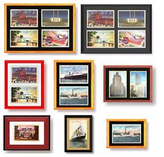 63 Ideas travel pictures display postcard wall for 2019 Postcard Display, Framed Postcards, Postcard Wall, Vintage Postcards, Vintage Cards, Travel Wall, It Goes On, Photo Displays, My New Room