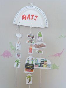 Hajj - kids craft
